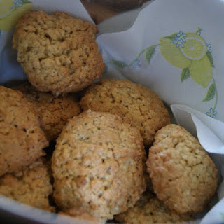 Oats and Ginger Biscuits.