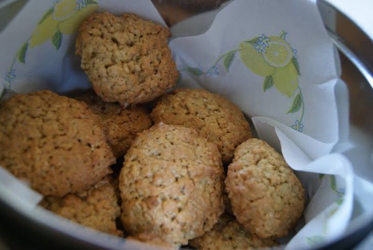 Oats and Ginger Biscuits