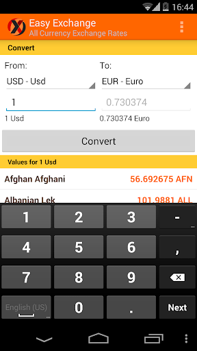 Easy Exchange - Currency Conv.