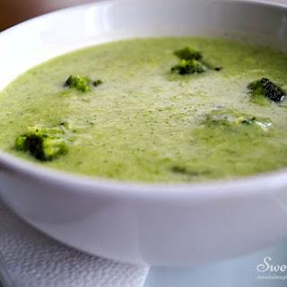 Cream of Broccoli Healthy Soup