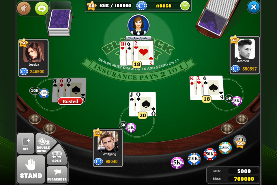 how to know how many decks in casino