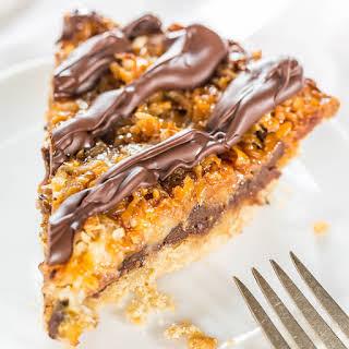 Samoas Cookie Pie.
