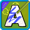 Alphabet Paint Lite for Kids icon