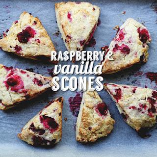 Raspberry & Vanilla Scones