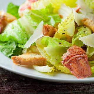 Lobster Caesar Salad.