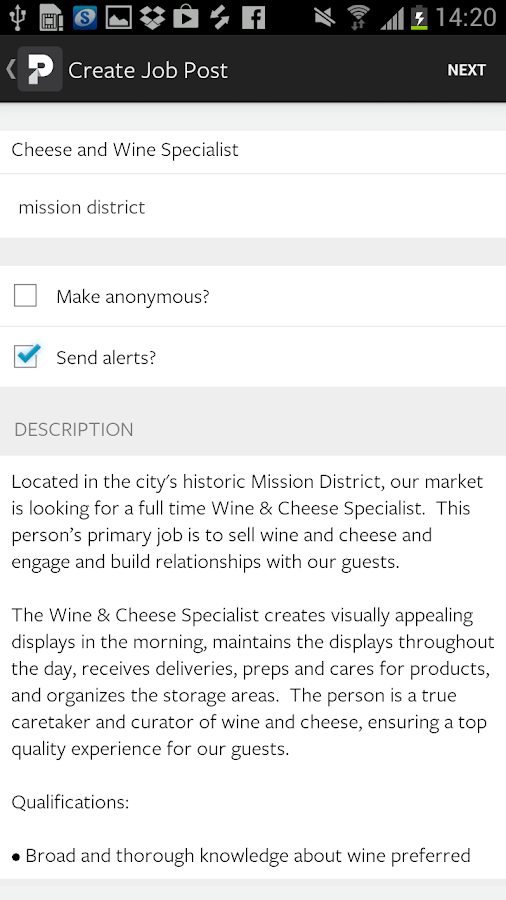 Proven Restaurant Hiring - screenshot
