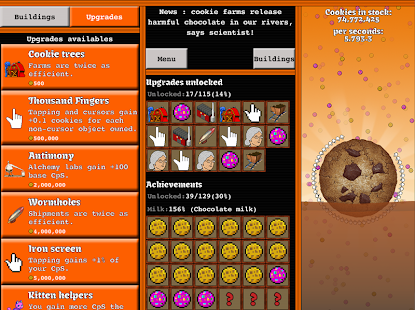 Cookie Tap- screenshot thumbnail