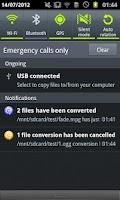 Screenshot of ARMV7 NEON VidCon Codec