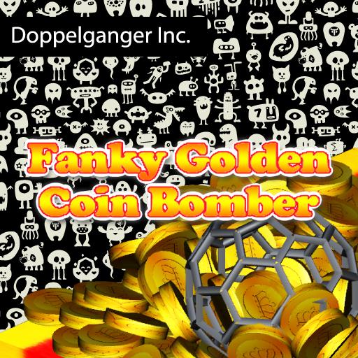 Funky Golden Coin Bomber