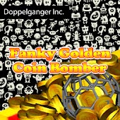 Funky Golden Coin Bomber