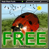 Magic Shape Puzzle Free