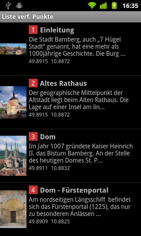 ShowMe: Bamberg- screenshot