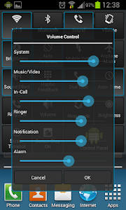 Control Panel screenshot 2