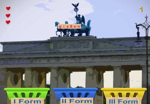 德國不規則動詞