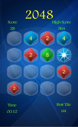 2048ジグソーパズルパズルゲームロジック 幻想的な2048
