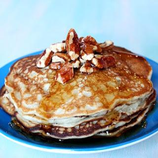 Banana- Pecan Pancakes.