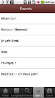 Screenshot of French to Thai