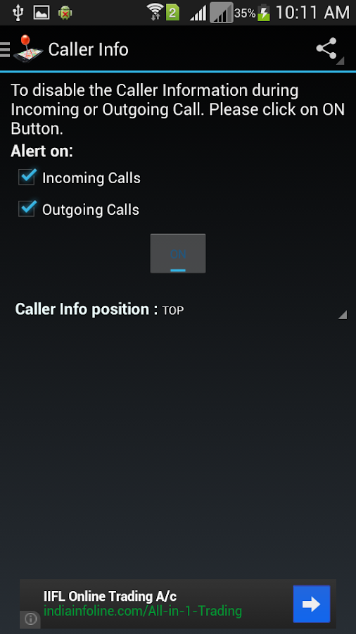 Mobile Number Locator - screenshot