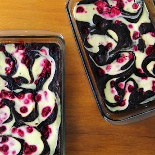 Raspberry Cheesecake Brownies.