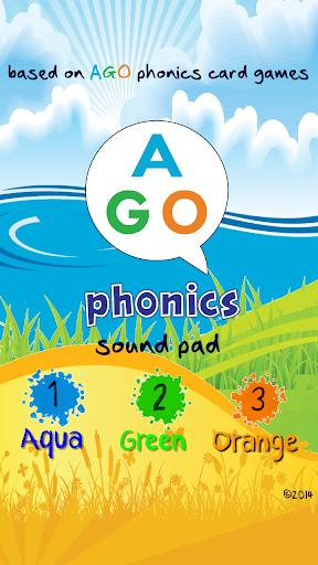 AGO Phonics・フォニックス・サウンドパッド