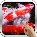 Water Effect: Bright Koi Fish icon
