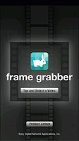 Screenshot of frame grabber