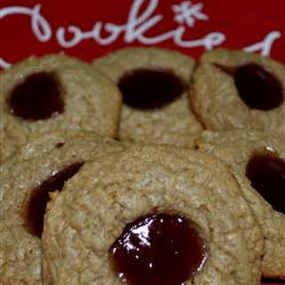 Uncle Mac's Peanut Butter and Jelly Cookies.