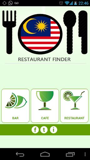 Malaysia Restaurant Finder
