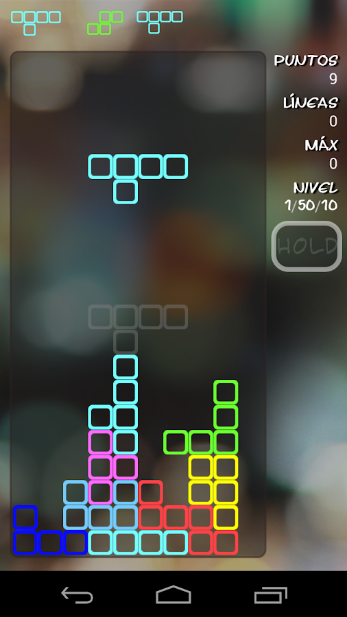 Pentris Board  (Blocks Game) - screenshot