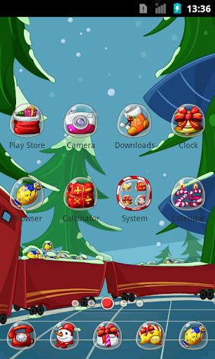 Christmas Train theme