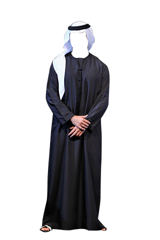 Man fashion suit arab