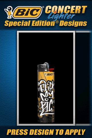 BIC® Concert Lighter - screenshot