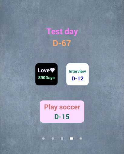 Special DAY D-day Widget