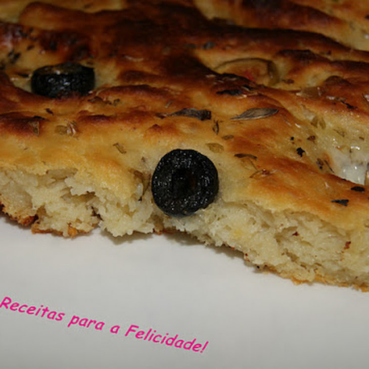 Olive and Goat Cheese Foccacia Recipe