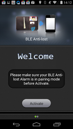 BLE Anti-lost