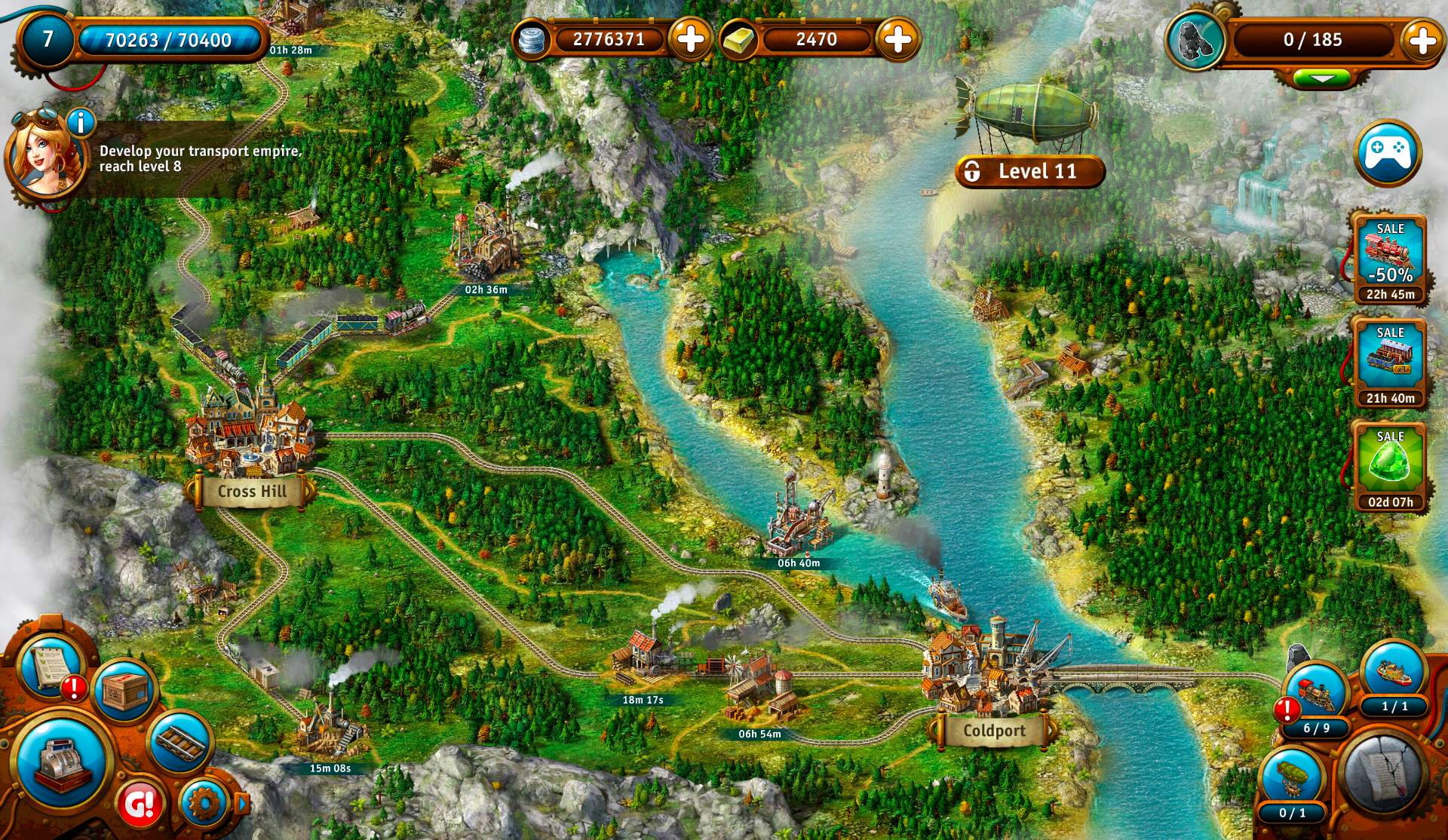 Transport Empire: Steam Tycoon screenshot #18
