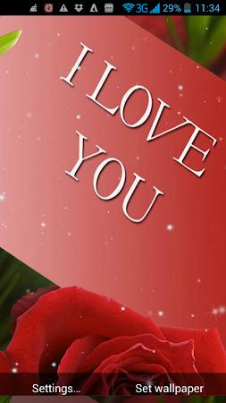 I Love You Live Wallpaper 21 Screenshot 1880801