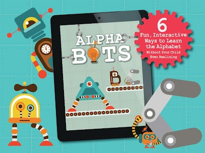 Alphabots - Alphabet ABC Games- screenshot thumbnail