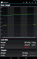Screenshot of Weight Control