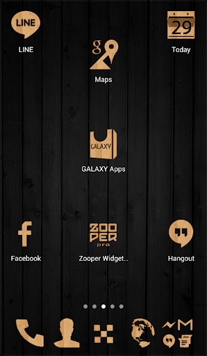 Light Wood Icon Pack