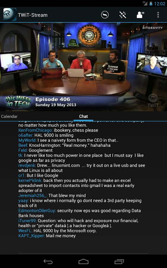 TWiT-Stream- screenshot