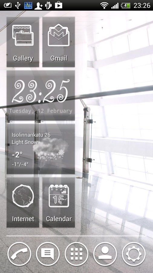 Vire Launcher - screenshot