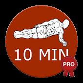 10 Minute Plank Workout PRO