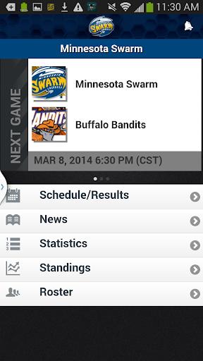 Minnesota Swarm Lacrosse