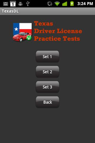 Texas Driver License Practice - screenshot