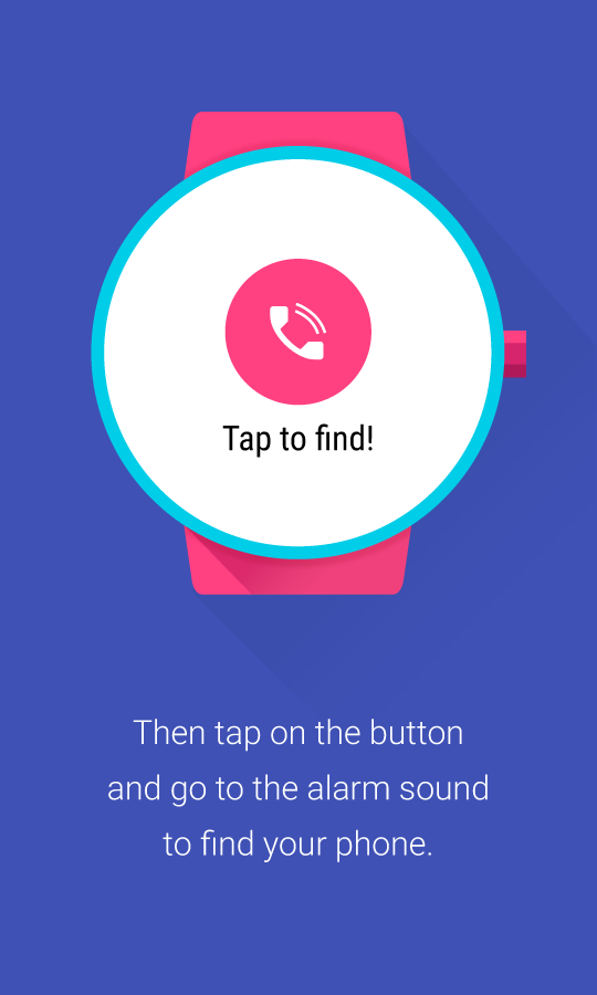 Find My Phone (Android Wear)- screenshot