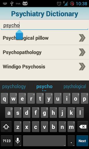 玩免費醫療APP|下載Medical Psychiatric Dictionary app不用錢|硬是要APP