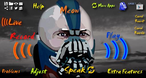 Bane 語音換 BTVC Batman