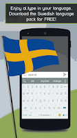 Screenshot of ai.type Swedish Predictionary