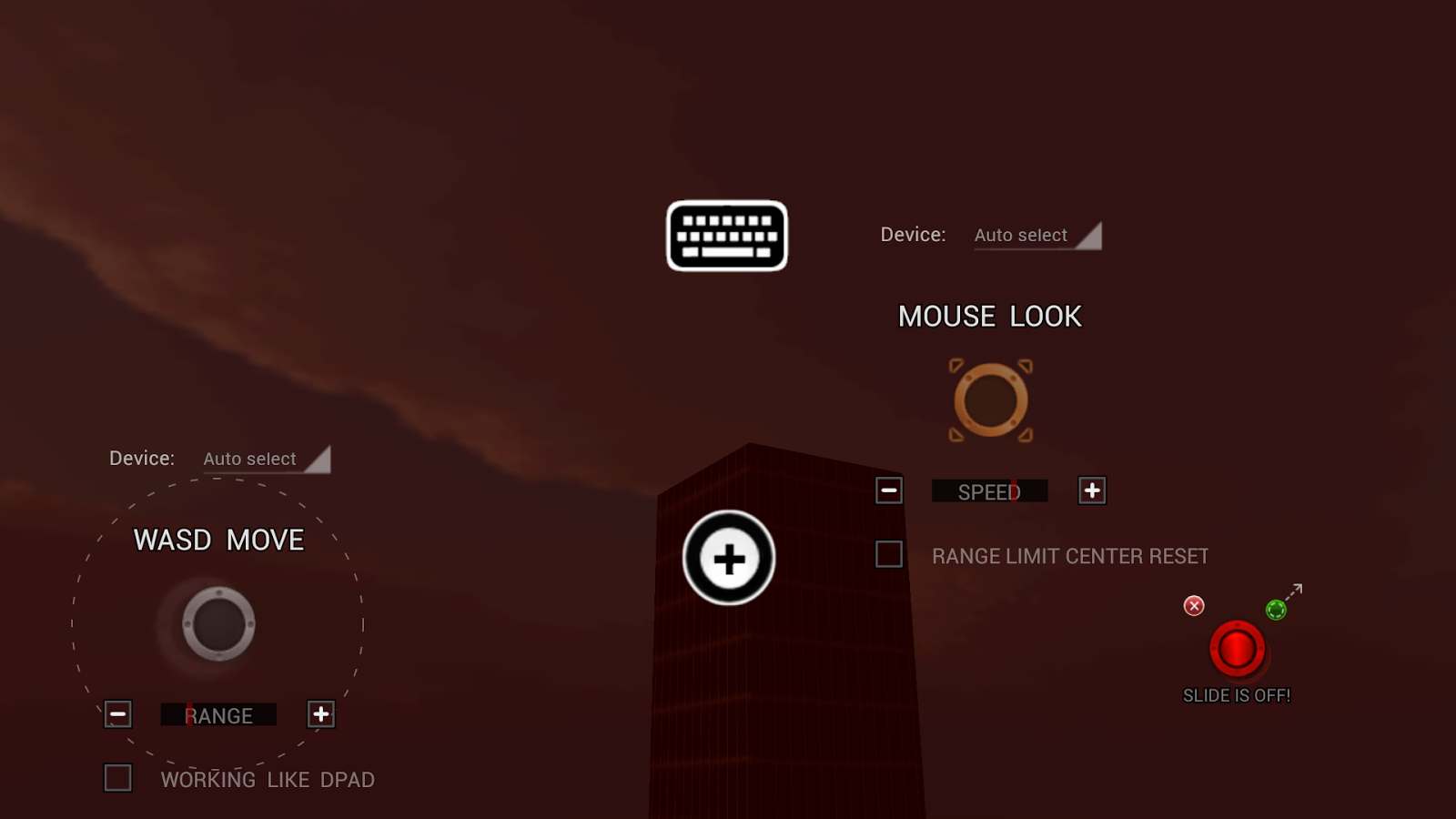Mouse&Key 2Touch Gaming - screenshot